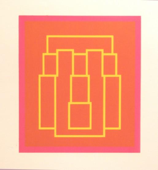Robyn Denny, Portraits (Series B), III, 1973