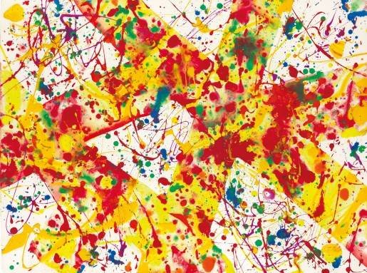 Sam Francis, Untitled SF92-55 (Acrylic), 1992