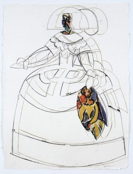 Manolo Valdes, Las Meninas VIII, 2000
