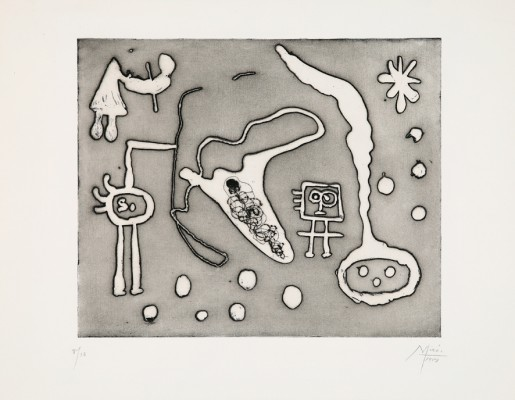 "Joan Miró, From ""Series II"", 1947/1952-1953"
