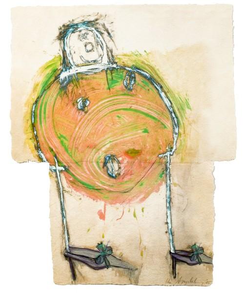 Ida Applebroog, Progeny Suite: Chanel, 2005