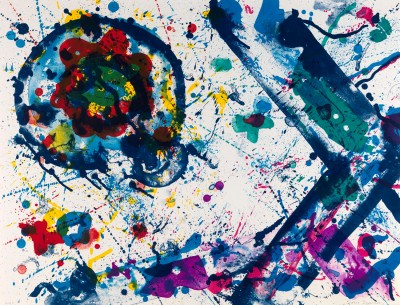 Sam Francis, Untitled, 1986