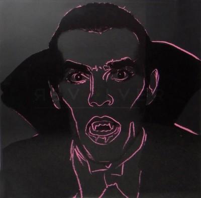 Dracula (FS II.264) by Andy Warhol