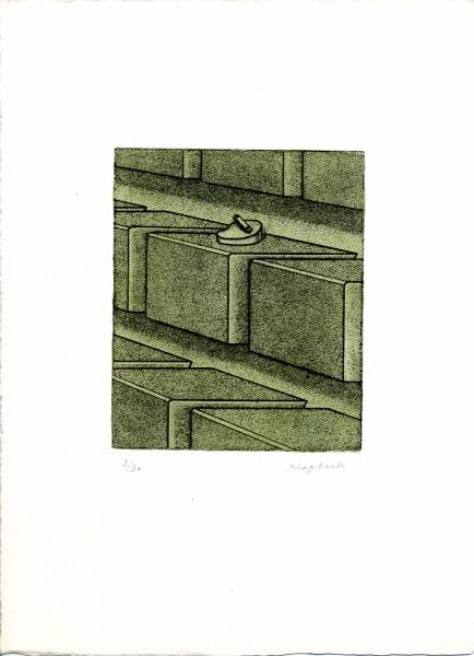 Konrad Klapheck, Patience, 1980