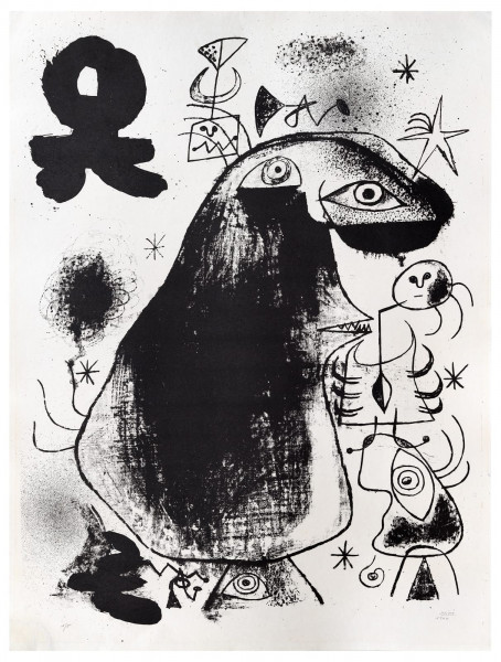 Joan Miró, Barcelona: XXXVI, 1939