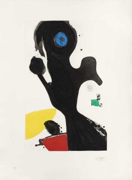 Joan Miró, Le gardien de phare, 1981/1990