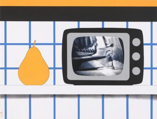 Tom Wesselmann, TV Still Life, 1965