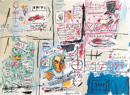 Jean-Michel Basquiat, Olympic, 1982-83/2017