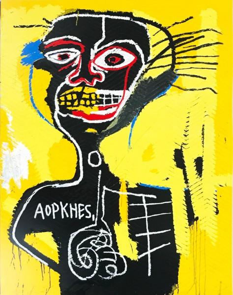 Jean-Michel Basquiat, Cabeza, 1982/2005