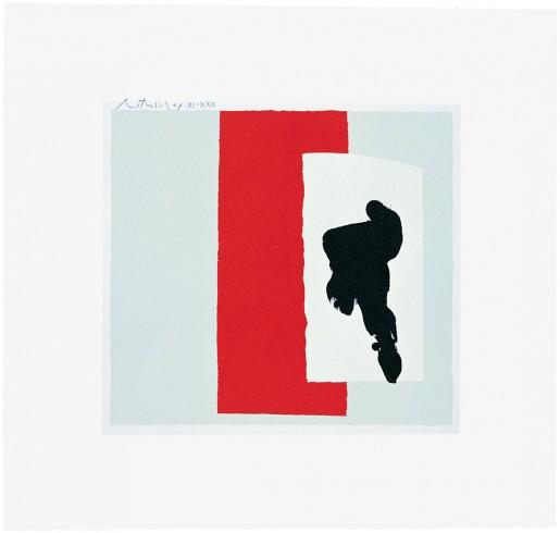Robert Motherwell, The Berggruen Series: Untitled, 1980