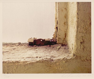 Ed Ruscha - Little Mexican Church on a Windowsill 1970