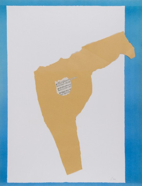 Robert Motherwell, Dedication–Lincoln Center (B.App.23), 1969