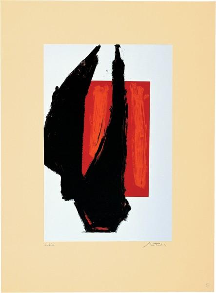 Robert Motherwell, Art 1981 Chicago Print, 1981