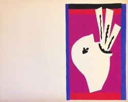 "Henri Matisse, L'avaleur de Sabres / The Sword Swallower (from ""Jazz""), 1947"