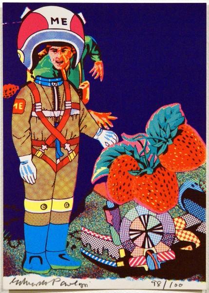 """Eduardo Paolozzi, Me (from """"Eighteen Small Prints""""), 1973"""