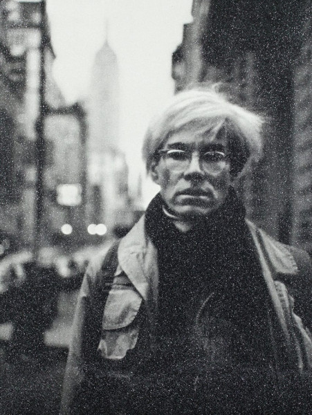 Russell Young, Andy Warhol, 2018