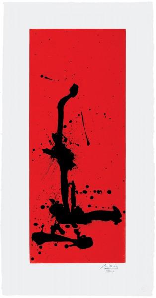 Robert Motherwell, Red Sea III, 1983