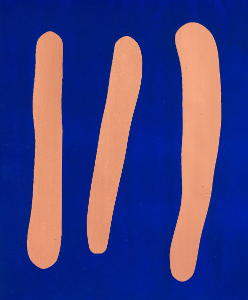 Günther Förg, Mr. Blue, 2002