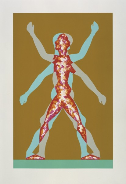 Jonathan Borofsky, Male/Female, 2000