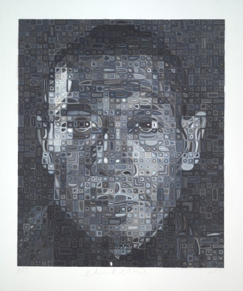 Chuck Close, Zhang Huan II, 2013