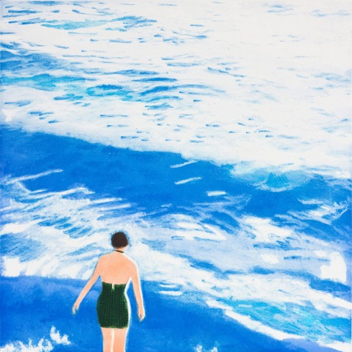Isca Greenfield-Sanders, Wading I (Blue), 2012