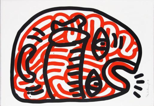 Keith Haring, Ludo 2, 1985