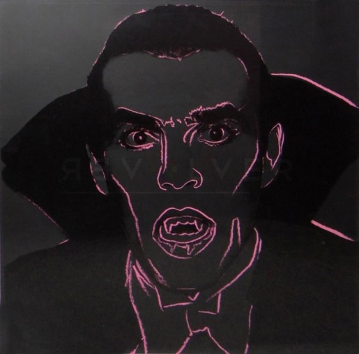 "Andy Warhol, Dracula (FS II.264), from the Portfolio ""Myths"", 1981"