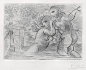 The Surprised Bathing Women   Les Baigneuses Surprises, from: La Suite Vollard