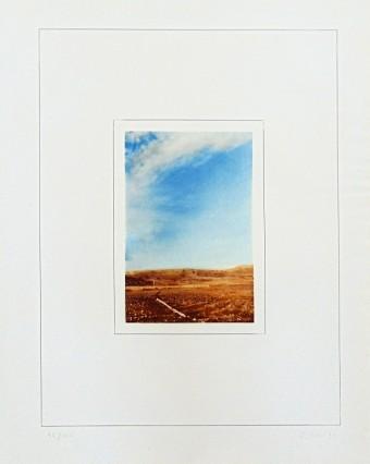 Landscape I | Landschaft I by Gerhard Richter