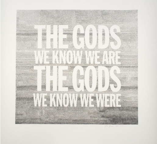 John Giorno, The Gods we Know we Are, 2005