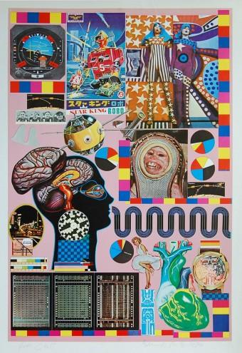 Hollywood Wax Museum by Eduardo Paolozzi
