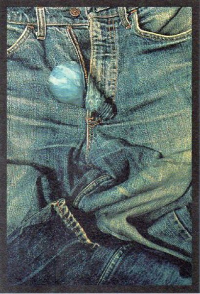 Tony Oursler, Jeans, 2001