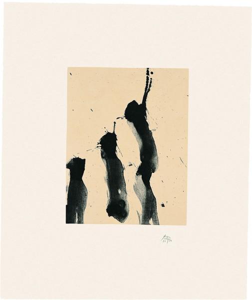 Robert Motherwell, Octavio Paz Suite: Nocturne IV, 1988