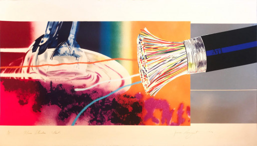 James Rosenquist, Horse Blinders (East), 1972