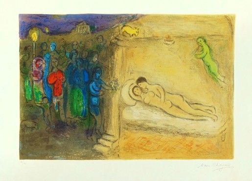 "Marc Chagall, Hymenaios (from ""Daphnis and Chloe""), 1961"