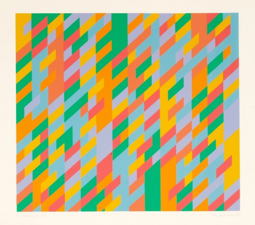 Bridget Riley, To Midsummer, 1989