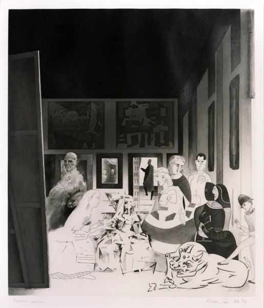 Richard Hamilton, Picasso's Meninas, 1973