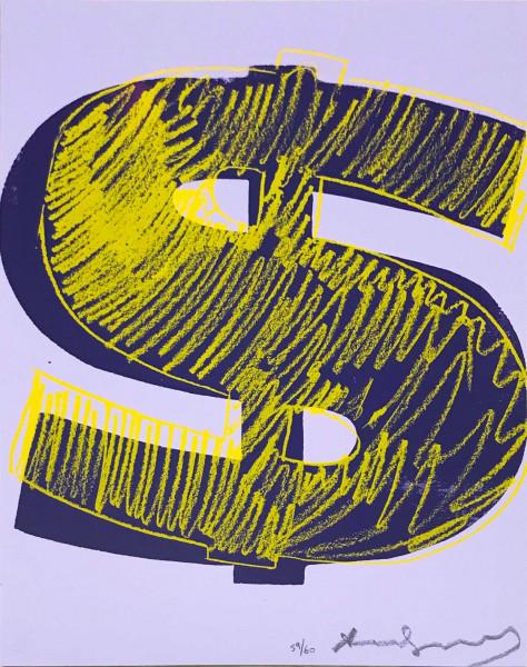 Andy Warhol, $ (1) (FS II.276), 1982