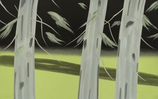 Alex Katz, Three Trees, 2018