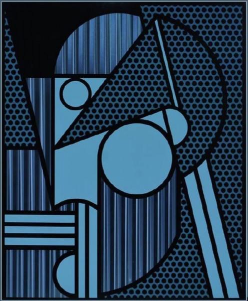 Roy Lichtenstein, Modern Head #4, from: Modern Head Series, 1970