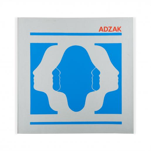 Roy Adzak, Positive-Negative, 1972