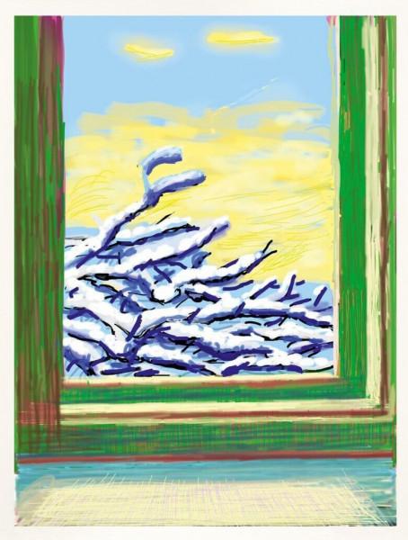 David Hockney, My Window 'No. 610', 2010-2020