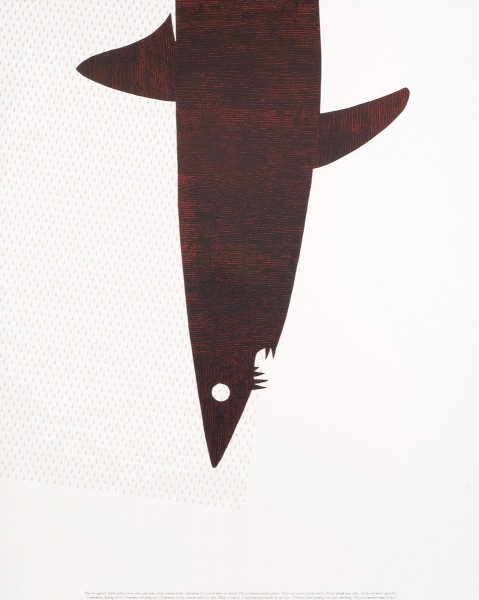 Matthew Brannon, Untitled (Red), 2007