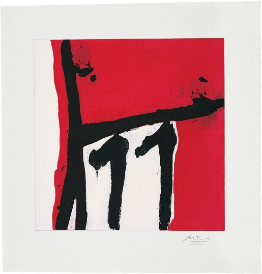Robert Motherwell, Mexican Night II, 1984