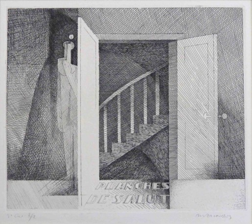 Louis Marcoussis, Frontispiece for Planches de Salut, 1931