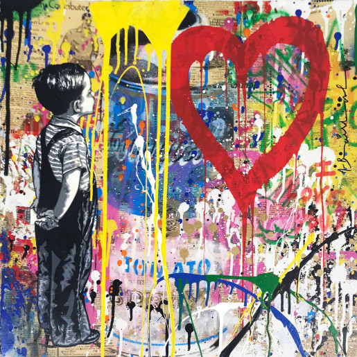 Mr. Brainwash, With All My Love, 2018