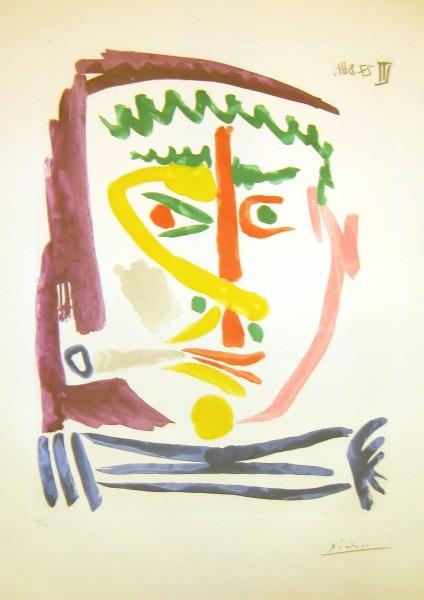 Pablo Picasso, Fumeur III, 1964