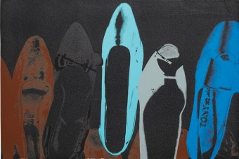 Shoes (FS II.257) by Andy Warhol