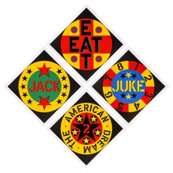 American Dream # 2 by Robert Indiana