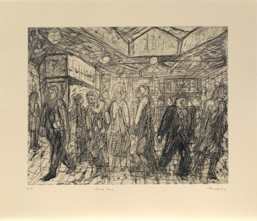 Leon Kossoff, Going Home, 1984
